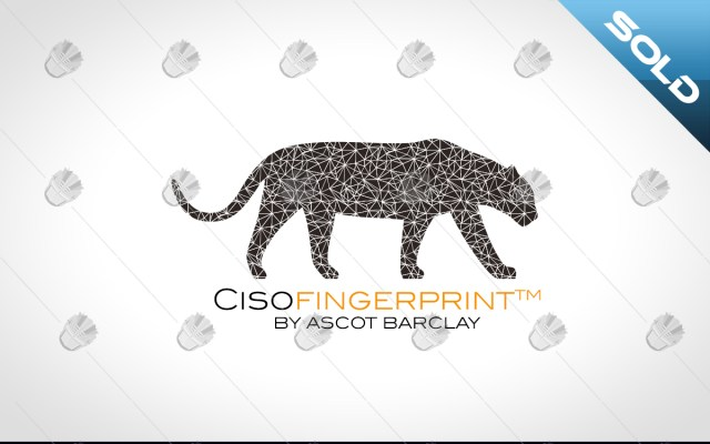 CISO Fingerprint logo cyber security logo