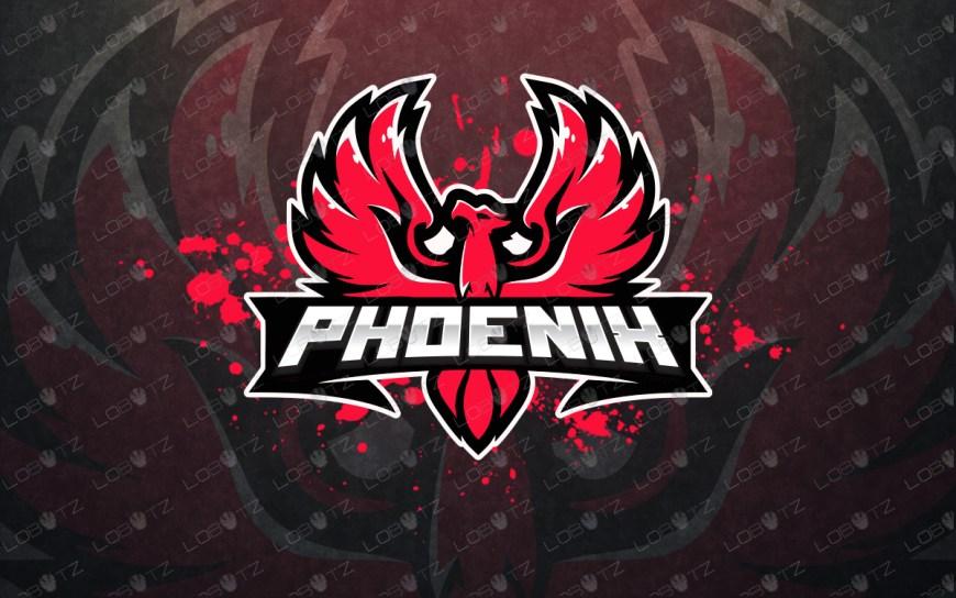 phoenix mascot logo for sale phoenix esports logo