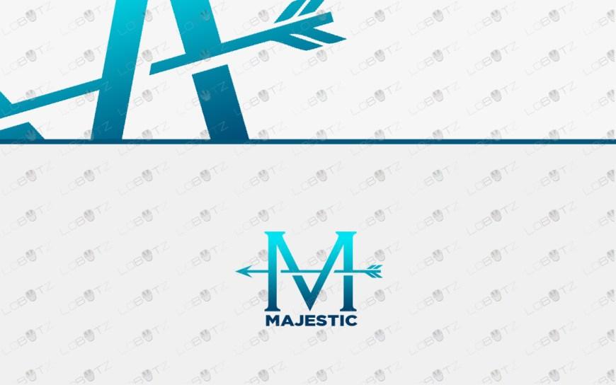 letter m logo for sale luxury logo