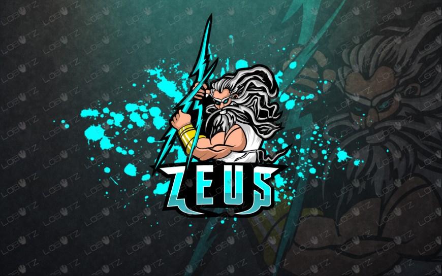 zeus esport logo zeus mascot logo