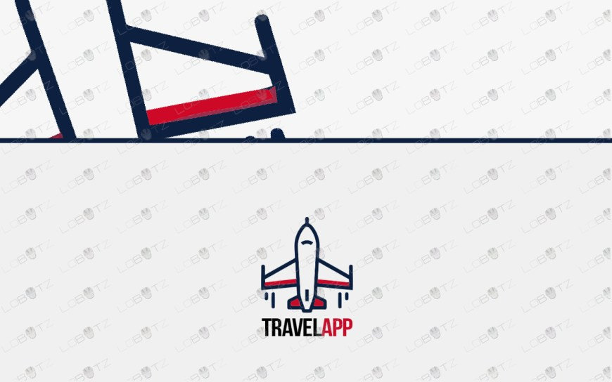 travel logo plane logo for sale