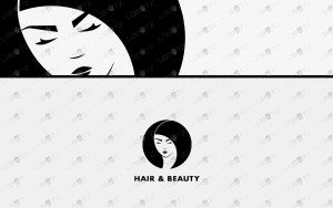 hair and beauty logo for sale