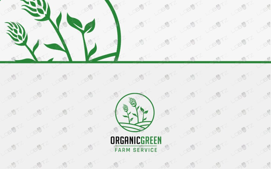 premade farm logo for sale