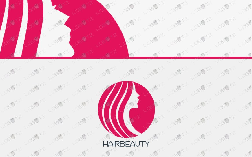 hair logo beauty logo for sale premadehair logo beauty logo for sale premade