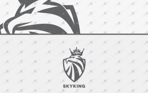 premade royal eagle logo for sale