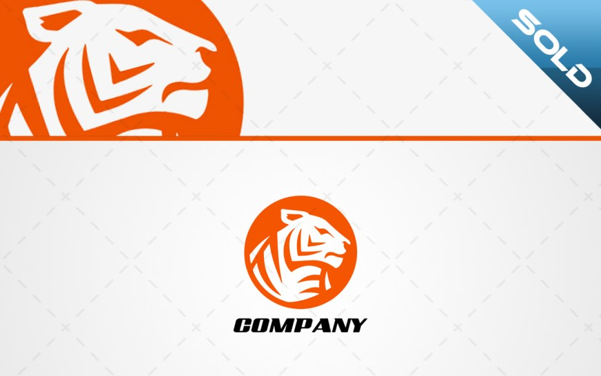tiger head logo for sale
