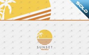 sunset logo for sale