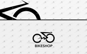 premade bike logo for sale