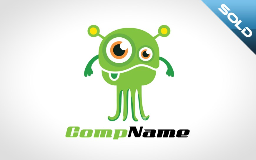 Cute Monster Logo
