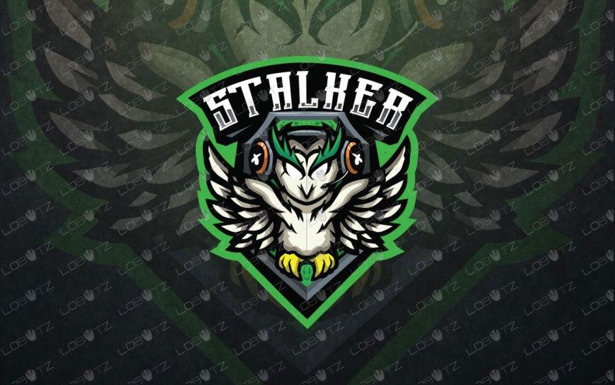 owl mascot logo owl esport logo