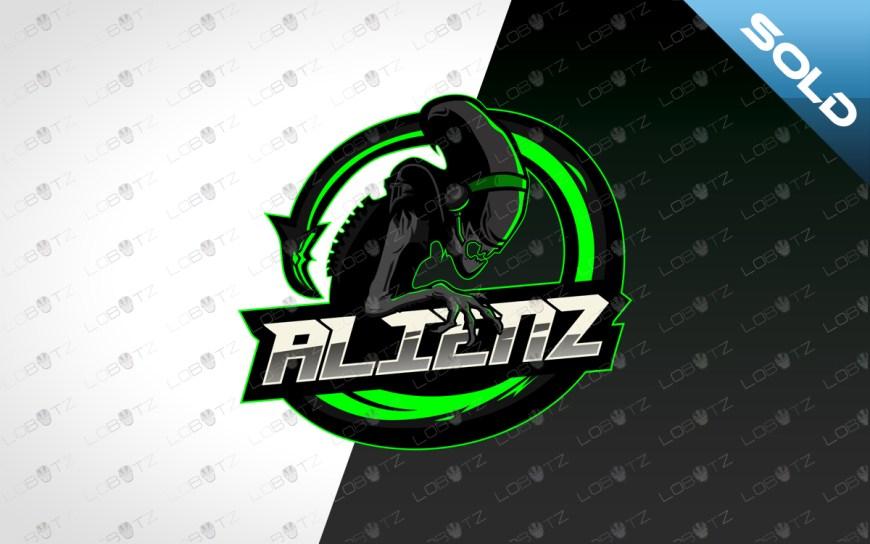 gamer alien mascot logo gamer alien esports logo