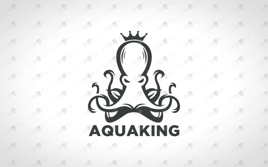 octopus logo for sale brand logo
