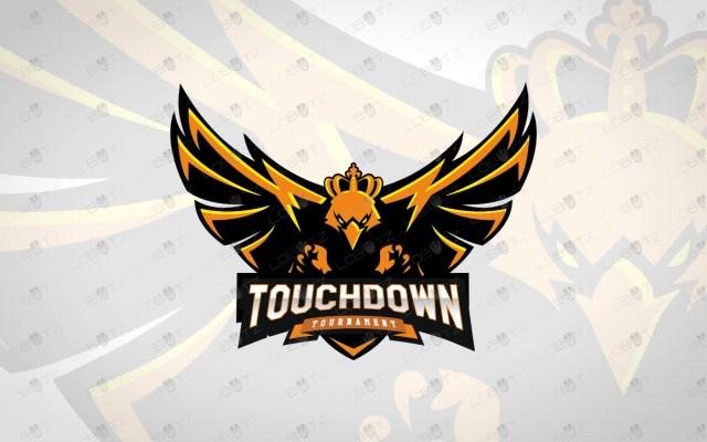 premade eagle mascot logo eagle esports logo for sale