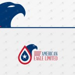 American Eagle Logo | Eagle Crest Logo For Sale