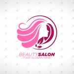 Beauty Salon Logo For Sale Premade Logo