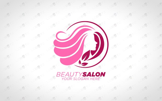 beauty salon logo for sale premade salon logo