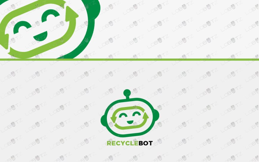 robot head logo for sale robot logo for business
