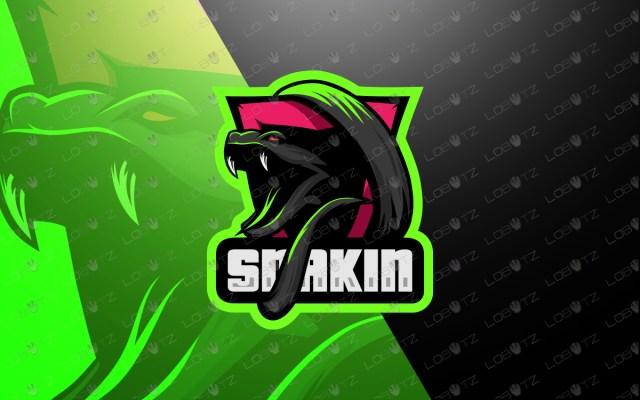 snake mascot logo snake esports logo