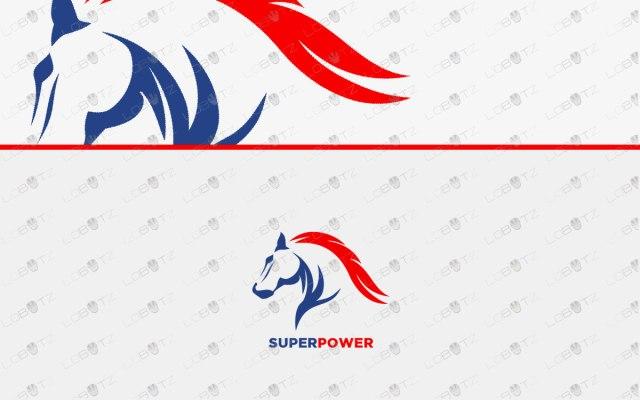 horselogo for sale premade horse logo