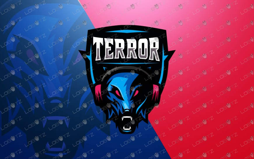 wolf mascot logo gamer wolf esports logo premade logos