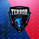 Gamer Wolf Mascot Logo Gamer Wolf eSports Logo Gaming Logo