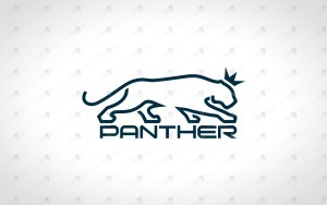 king panther logo for sale
