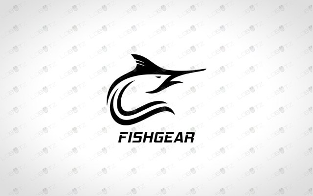 Creative Fishing Logo For Sale Premade Logo