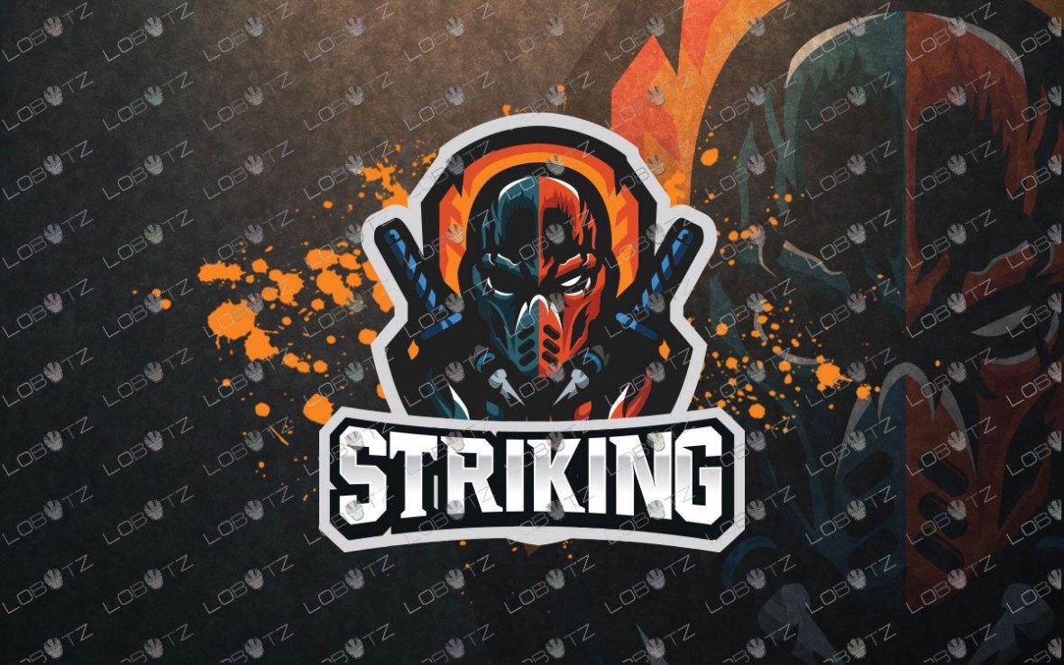 Premade eSports Logo For Sale Deathstroke Mascot Logo