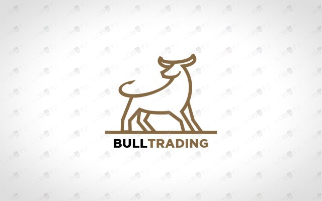 premade bull logo for sale company logo business logo