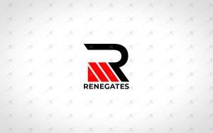 letter R Team logo for sale clan logo esports logo