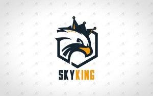 Minimalist Eagle Logo For Sale Premade Eagle Logo