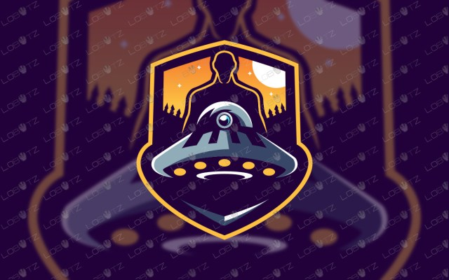 alien mascot logo alien esports logo gaming logo twitch logo