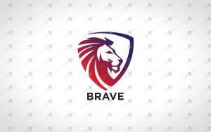 Premade Lion Logo   Royal Lion Crest Logo For Sale