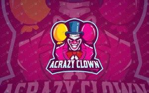 premade joker mascot logo joker esports logo crazy joker logo