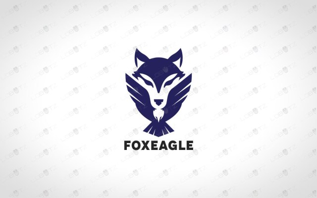 Minimalist & Creative Eagle Logo And Fox Logo