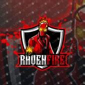 Premade Mascot Logo Fire Mascot Logo | Gaming eSports Logo