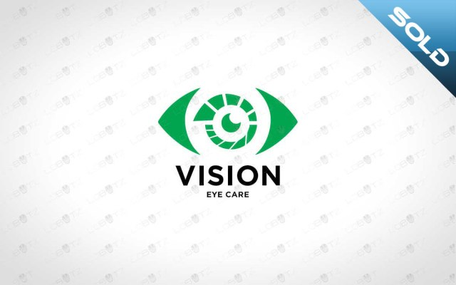 Eye Logo For Sale Premade Eye Logo Vision Logo