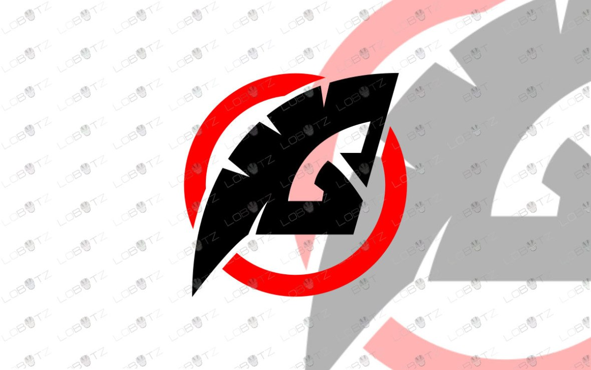 Gladiator Mascot Logo   Gladiator eSports Logo For Sale