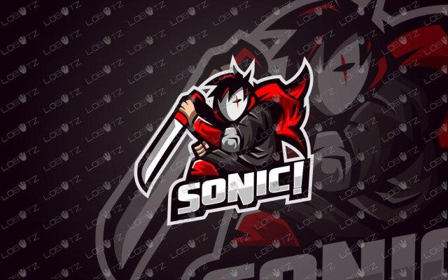 Assassin Mascot Logo For Sale | Assassin eSports Logo