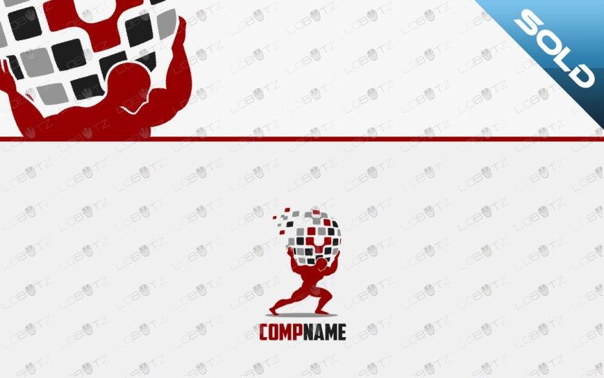 premade atlas logo for sale