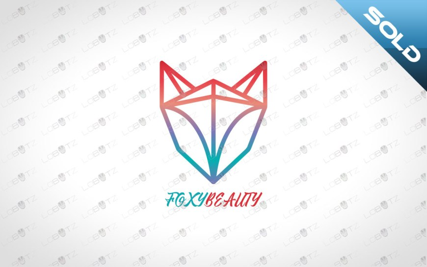 for logo for sale fox beauty logo
