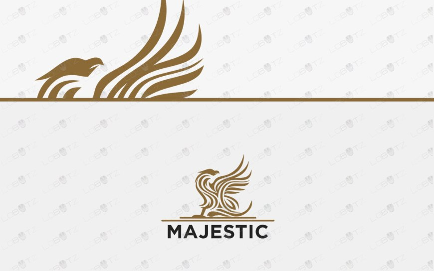 Majestic Griffin Logo For Sale | Premade Business Logo