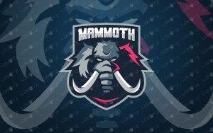 Mammoth Mascot Logo   Mammoth eSports Logo For Sale