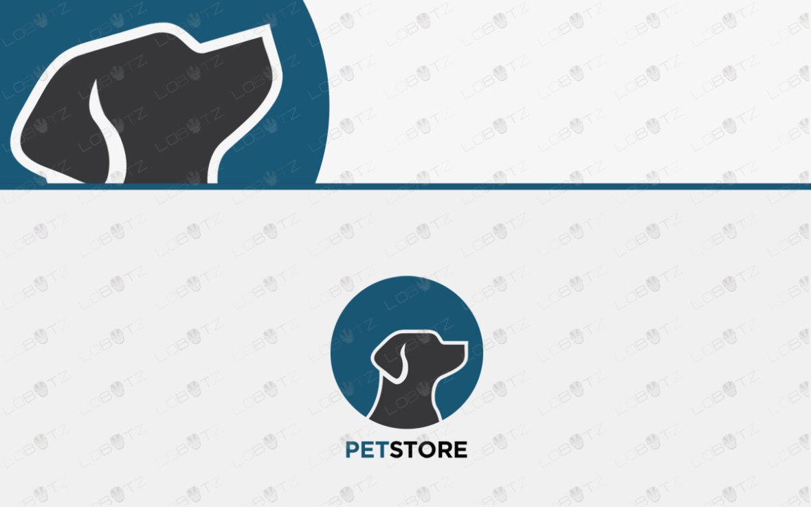 Premade Dog Logo For Sale Dog Pets Logo