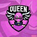 Girl Gamer Mascot Logo For Sale   Girl Gamer eSports Logo