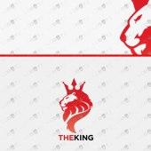 Premade Majestic Lion Logo | Royal Lion Logo For Sale