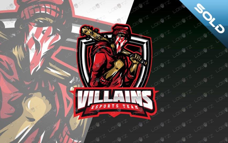 strong esports logo strong mascot logo villains logo