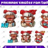 Apex Legends Lifeline Emotes / Lifeline Sub Badges For Twitch & Stream Premade Twitch Emotes