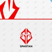 Awesome Spartan Head Logo For Sale | Spartan Logo