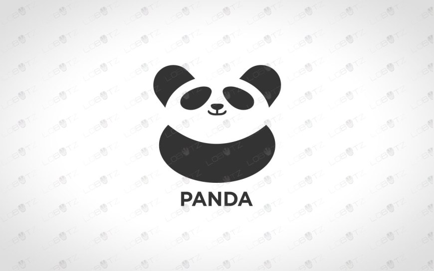 panda logo for sale panda logo for business